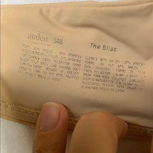 """Auden Intimates & Sleepwear - Auden """"the bliss"""" tan underwire- free bra"""